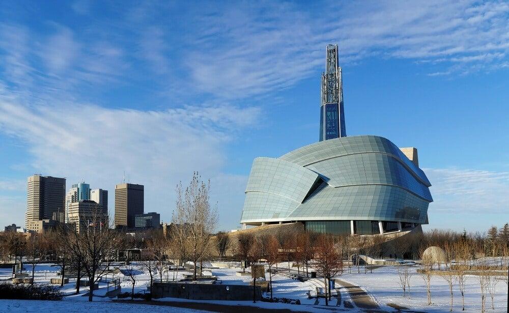 Visita el Museo Canadiense de los Derechos Humanos
