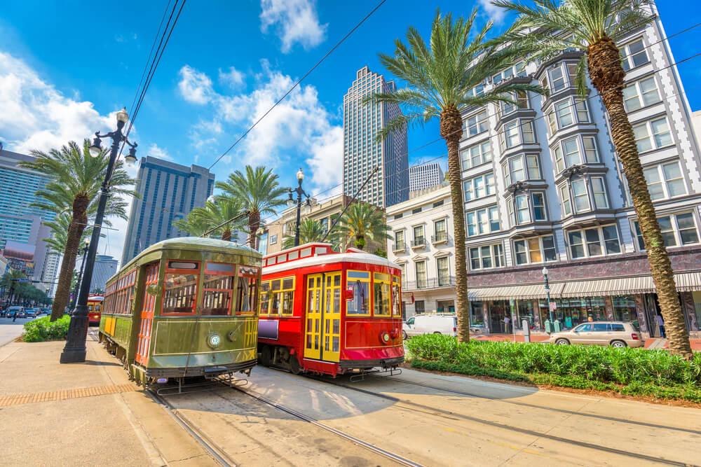 Los lugares de la ciudad de Nueva Orleans más frecuentados