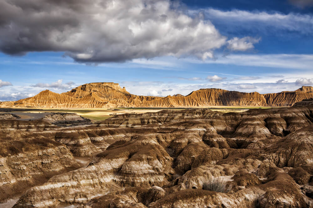 Paisaje del desierto de Bardenas