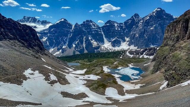 Sentinell Pass en el Parque Nacional Banff