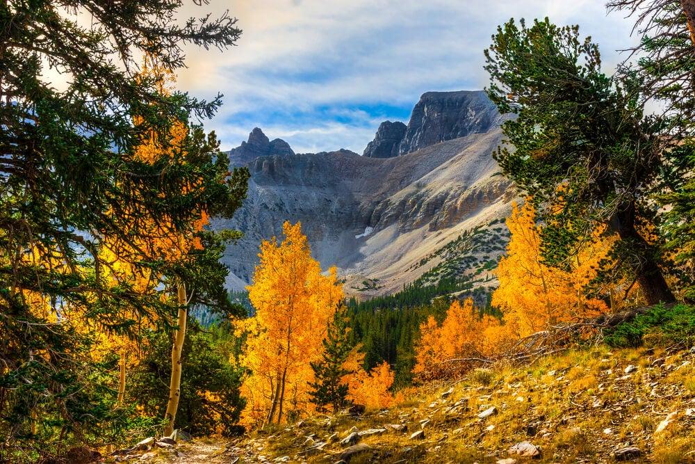 La belleza del Parque Nacional Great Basin en Estados Unidos