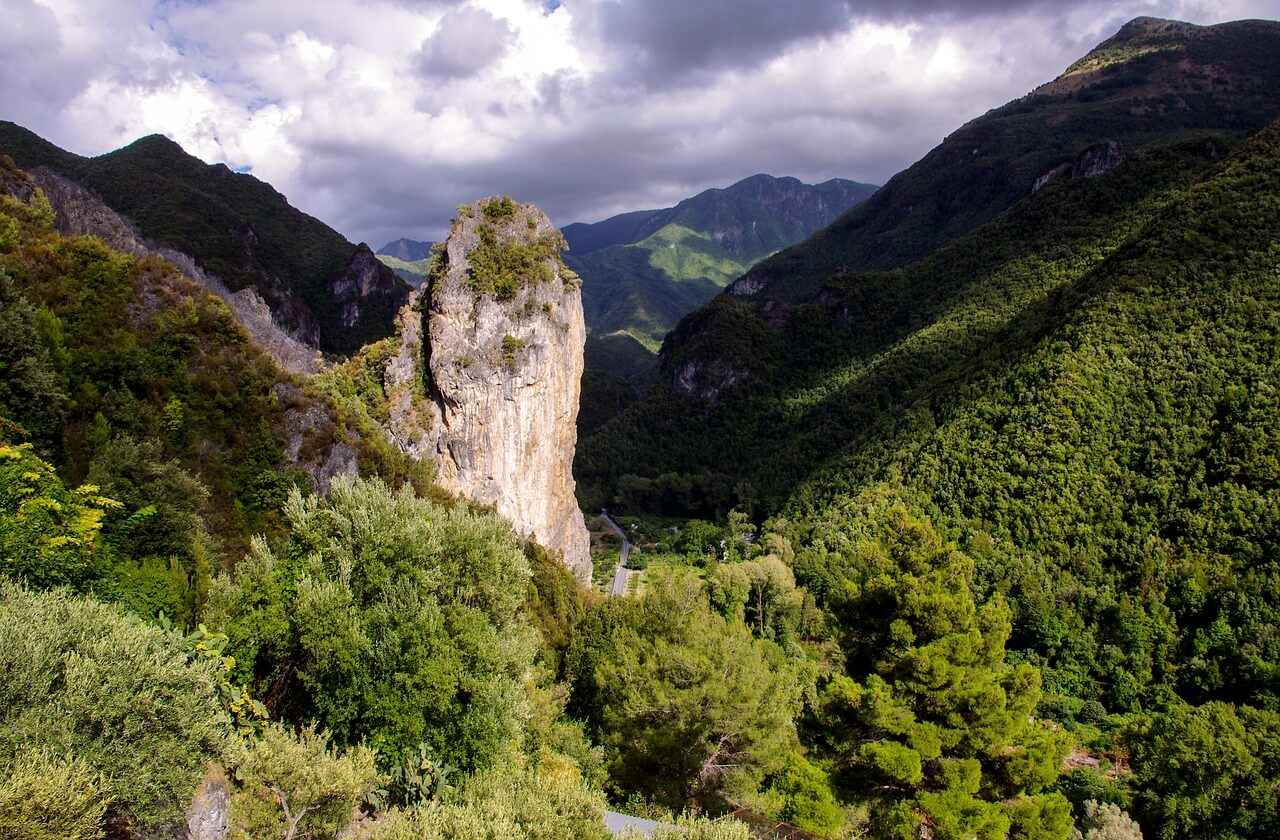 Paisaje del Parque Nacional del Pollino
