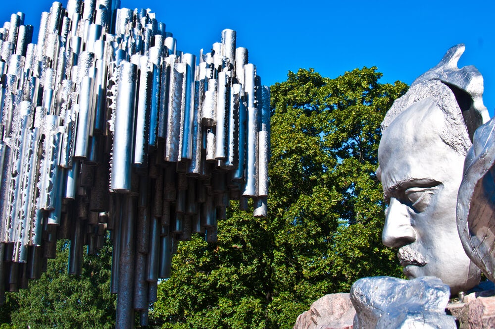 Parque Sibelius, el espacio verde más famoso en Helsinki