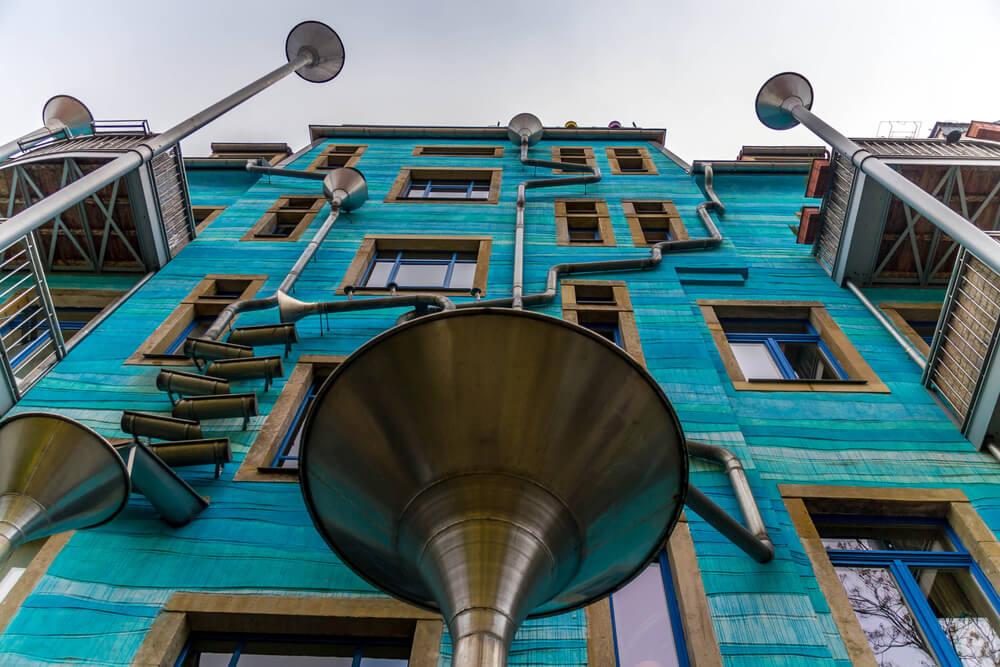 Patio de los elementos en Kunsthofpassage
