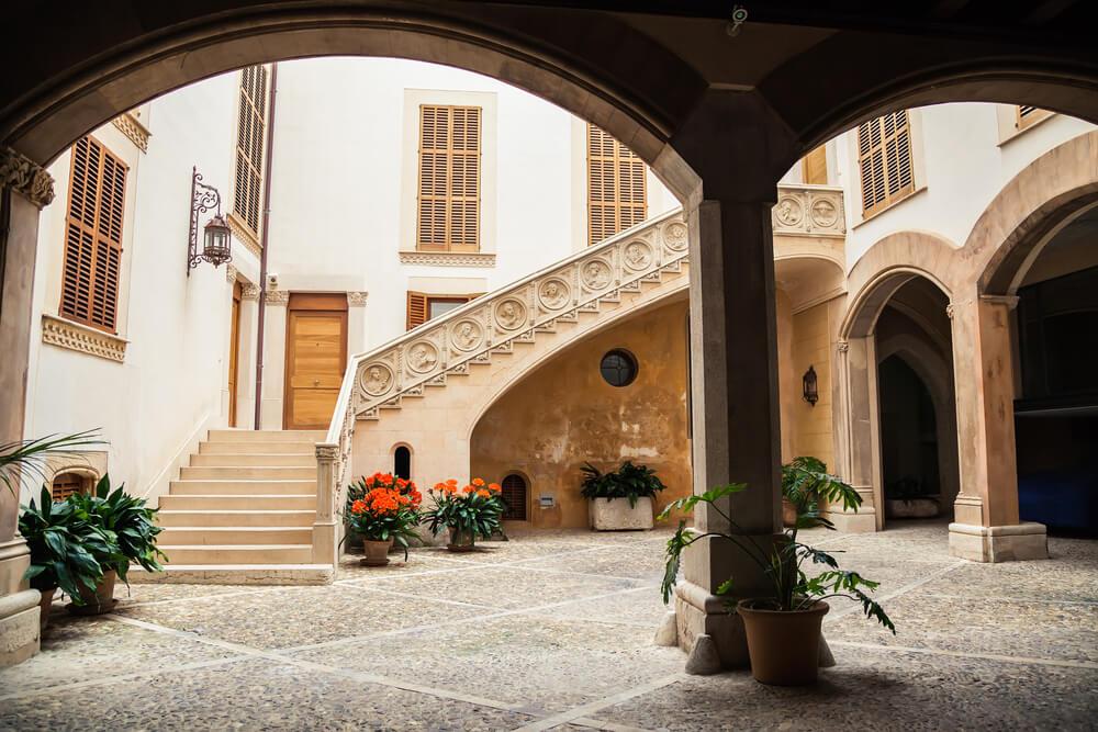 Ejemplo de patio interior de Palma