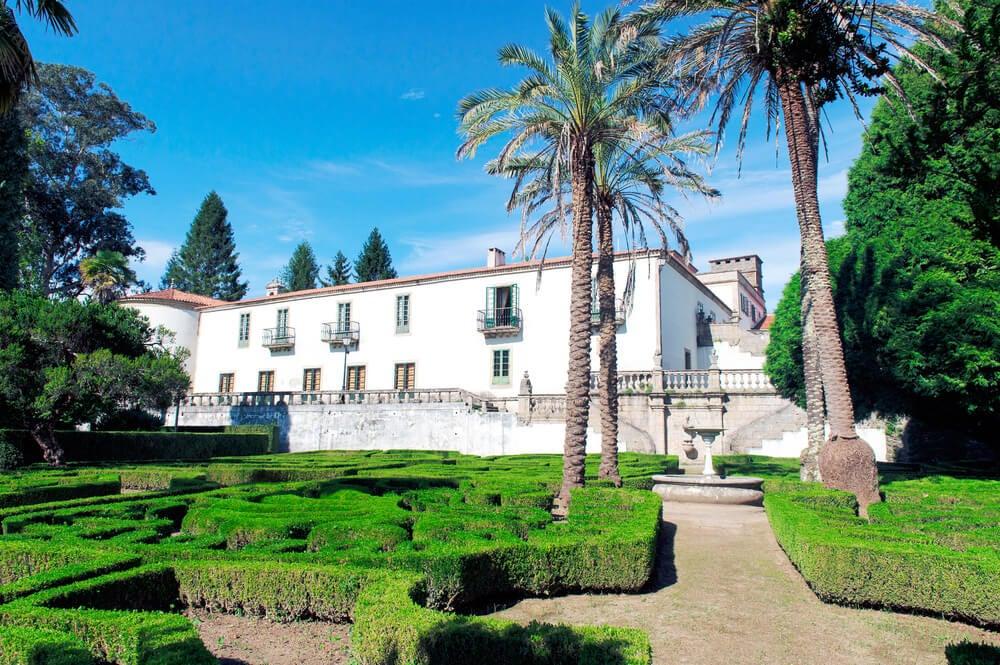 Pazo de Mariñan, uno de los pazos de Galicia más bonitos