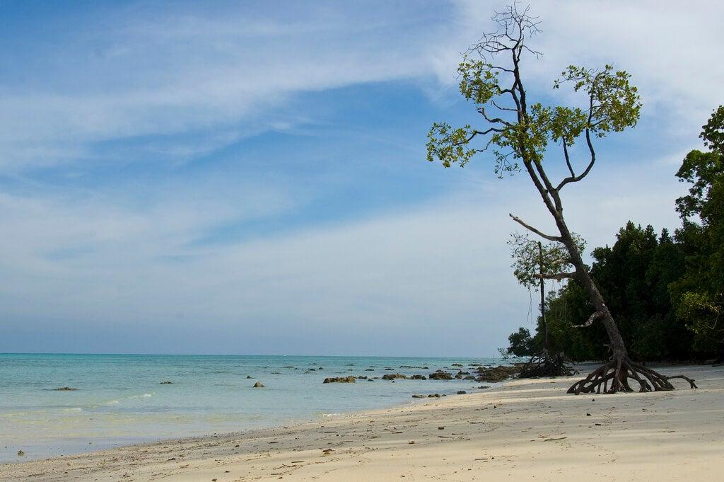 Playa en Andamán