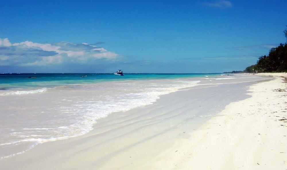 Playa de Diani: un hermoso lugar en Kenia
