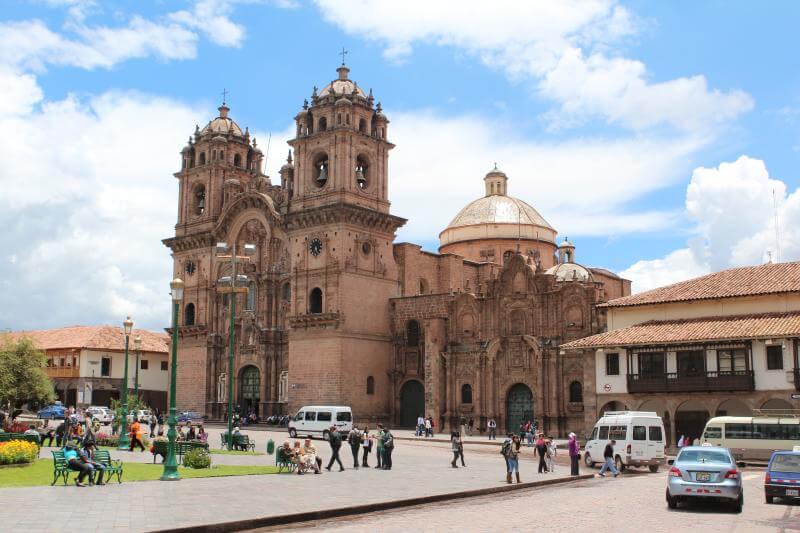 Vista de la plaza de Armas de Cuzco