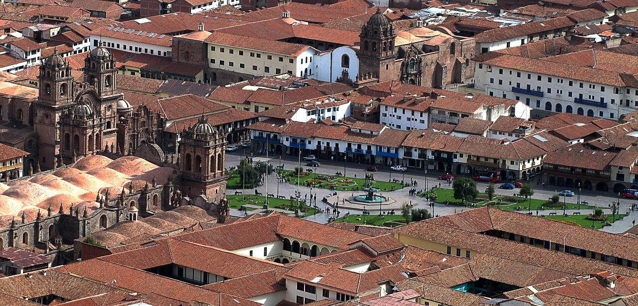 Cuzco, una de las plazas de Amas del Perú más bonitas