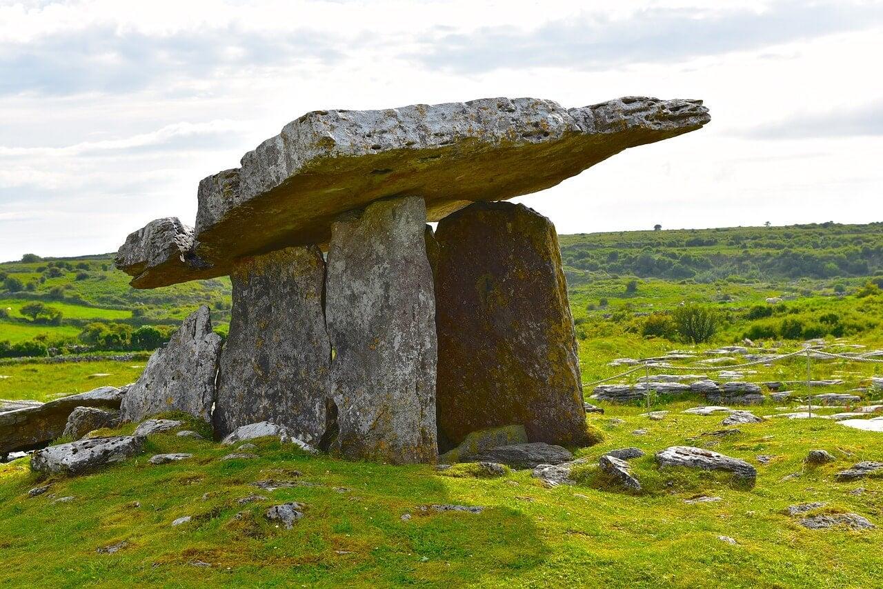 Detalle del dólmen