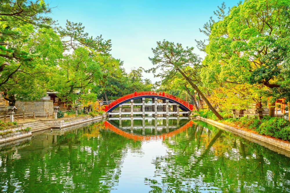 Puente de Sumiyoshi Taisha