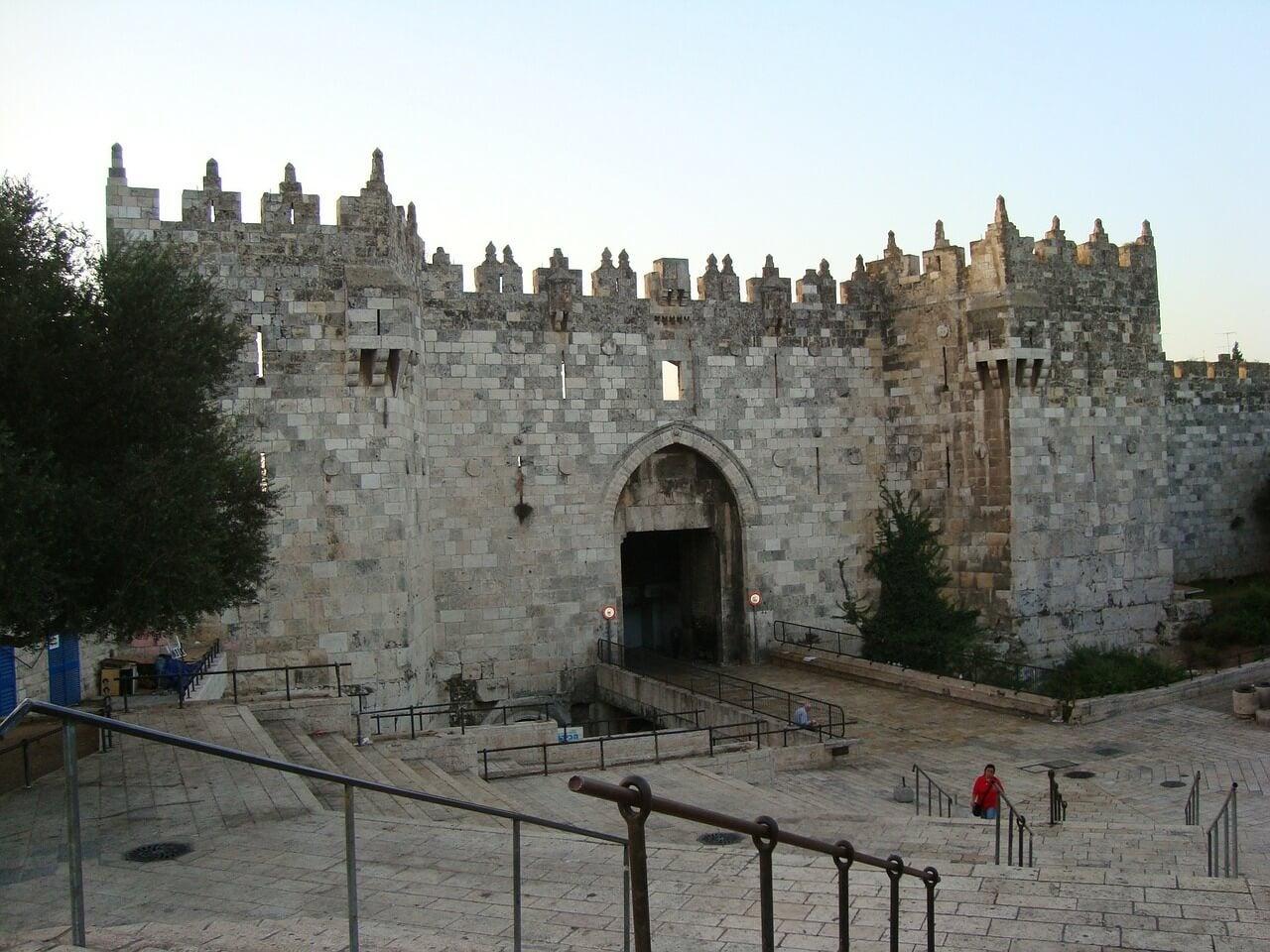 Puerta de Damasco en Jerusalén