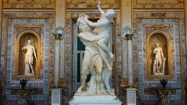 Rapto de Proserpina de Bernini