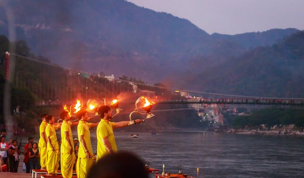 Ritual en el Ganges