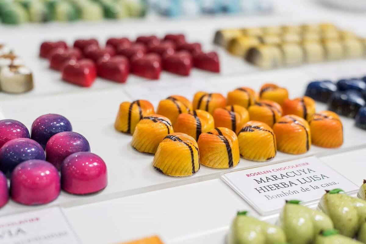 Productos de Roselen Chocolatier, una de las mejores chocolaterías del mundo