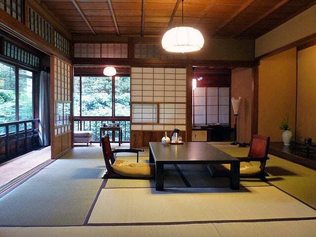 Salón de un ryokan