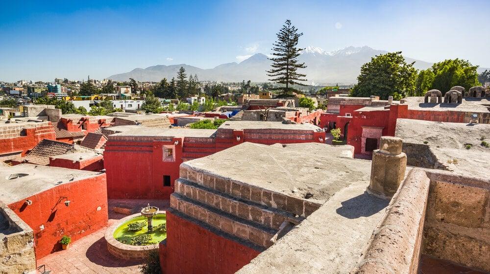 Vista del monasterio de Santa Catalina