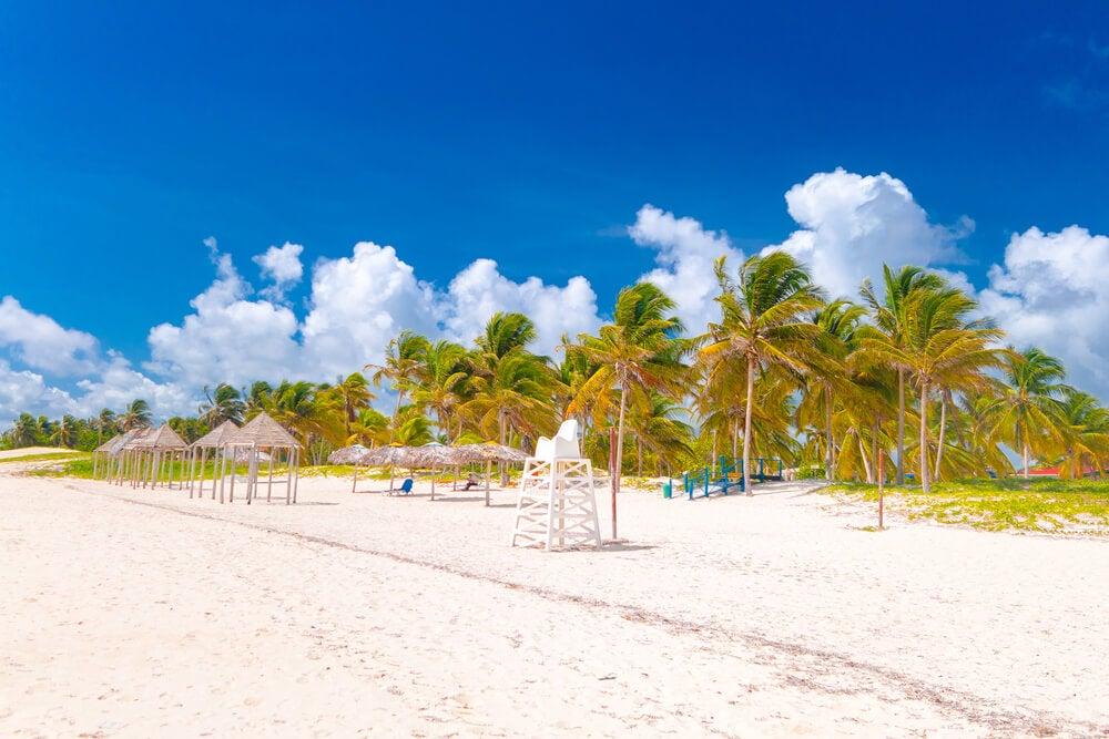 Playa de Santa Lucía en Cuba