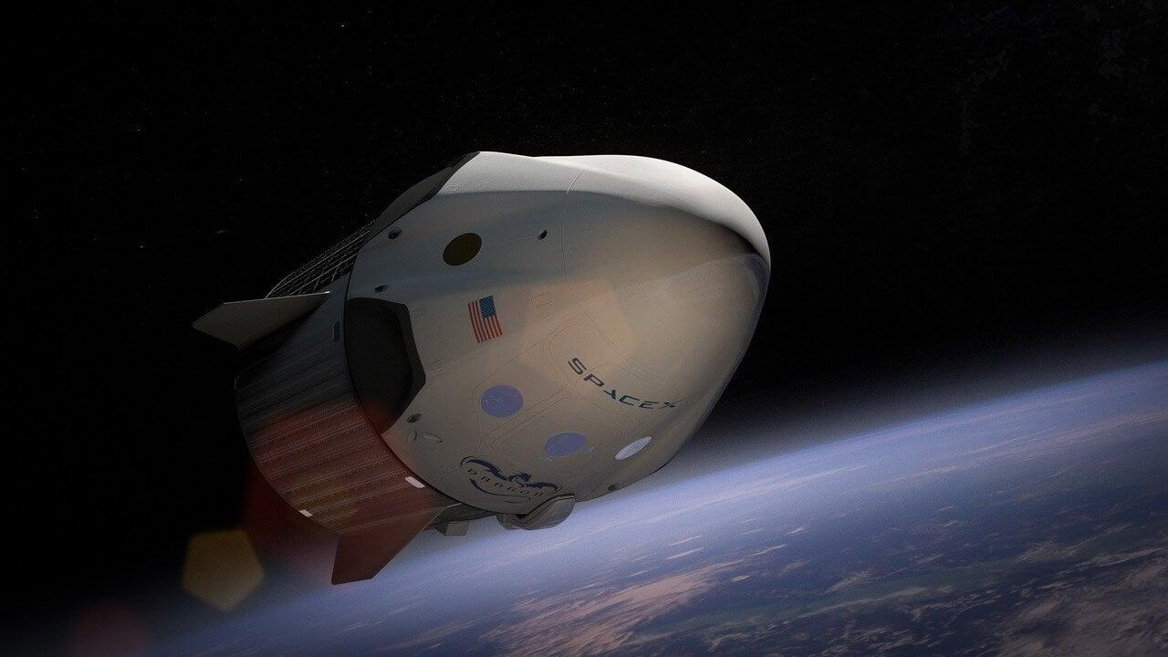 Nave de Spacex para viajes espaciales