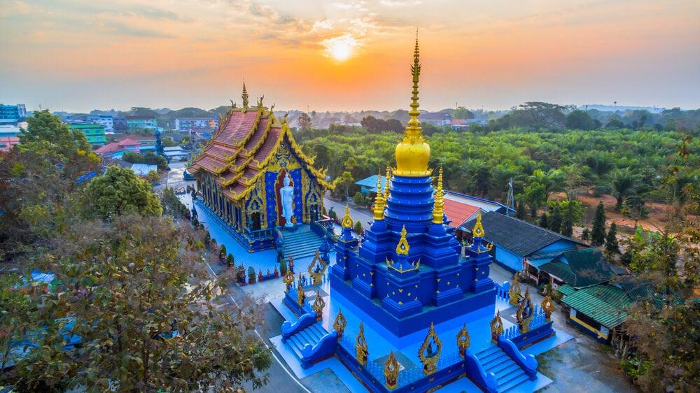El Templo Azul, uno de los tesoros de Chiang Rai