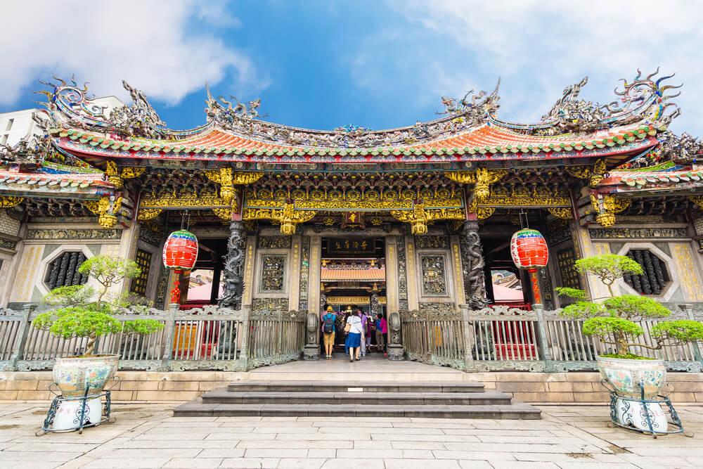 Entrada al templo Longshan