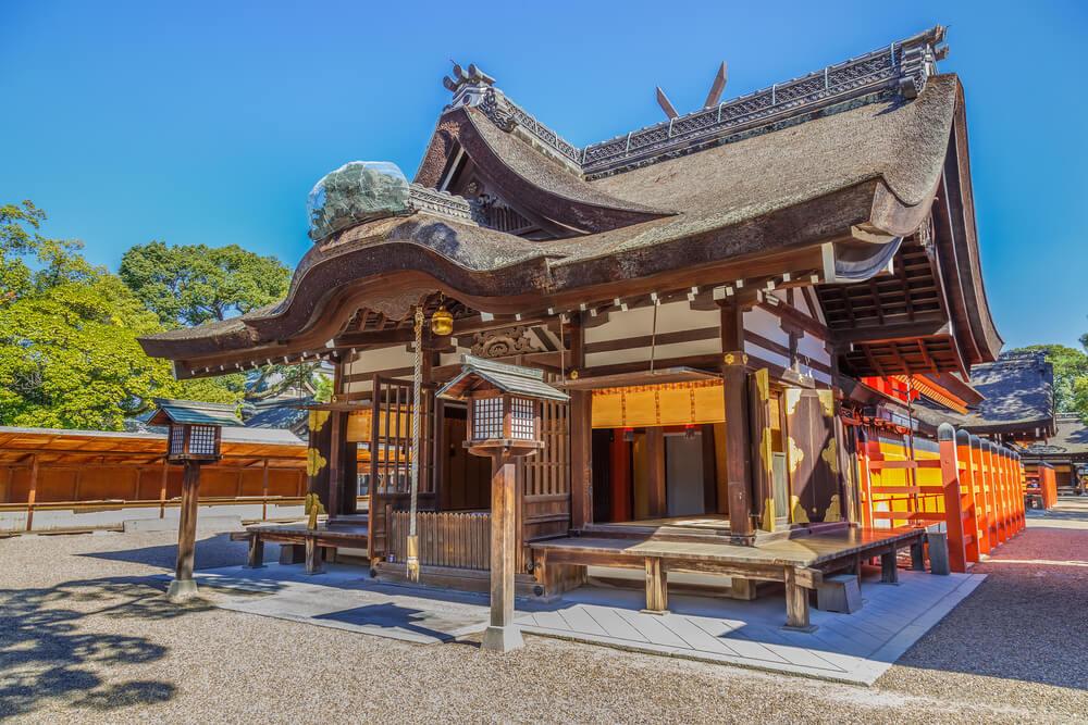 Recinto en el templo Sumiyoshi
