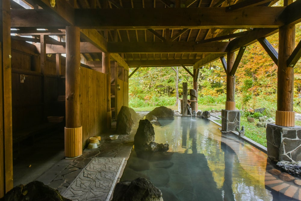 Terma en un alojamiento tradicional japonés