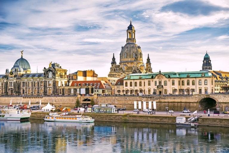 La terraza de Brühl, la mejor vista de Dresde