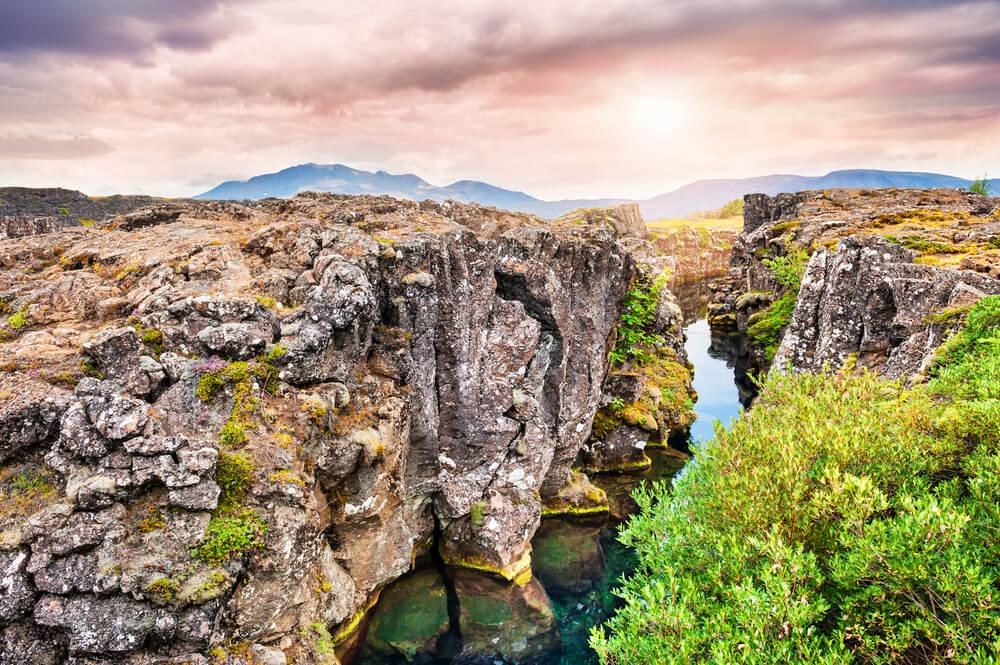 Parque Nacional de Thingvellir en Islandia
