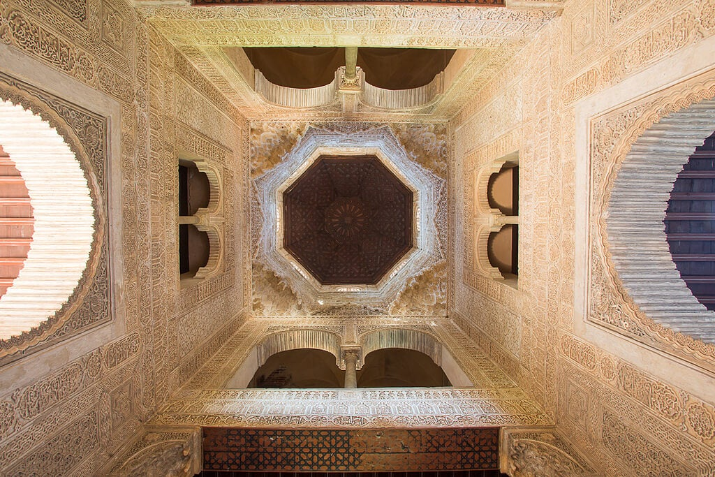 Interior de la Torre de las Infantas
