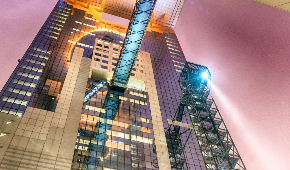 Umeda Sky Building por la noche