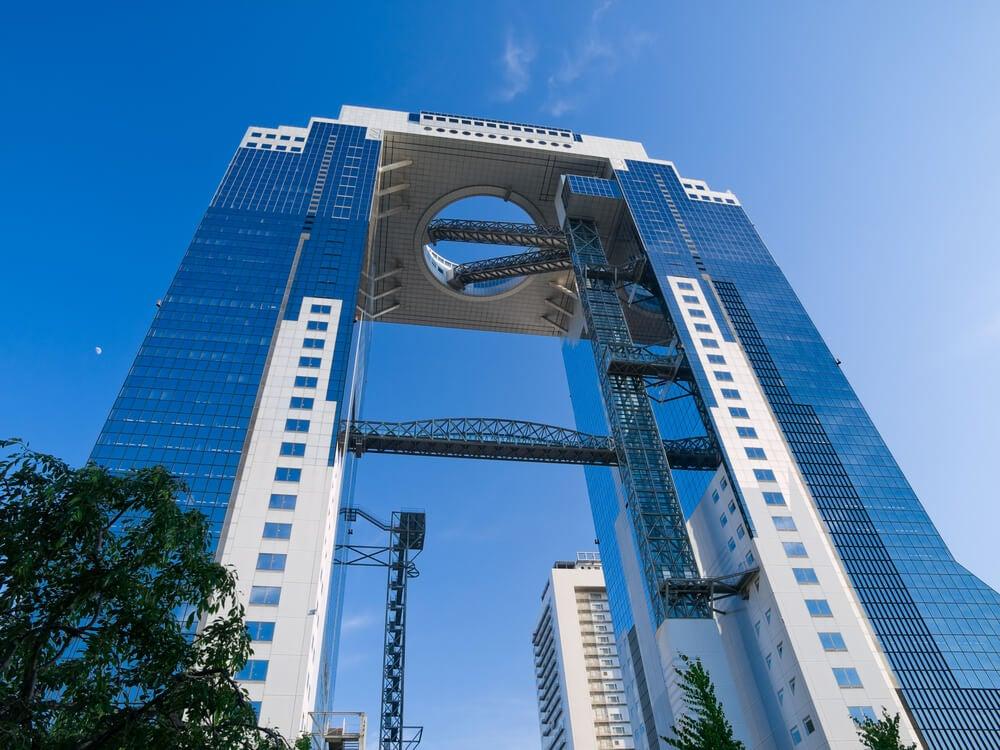 El Umeda Sky Building, la mejor vista de Osaka