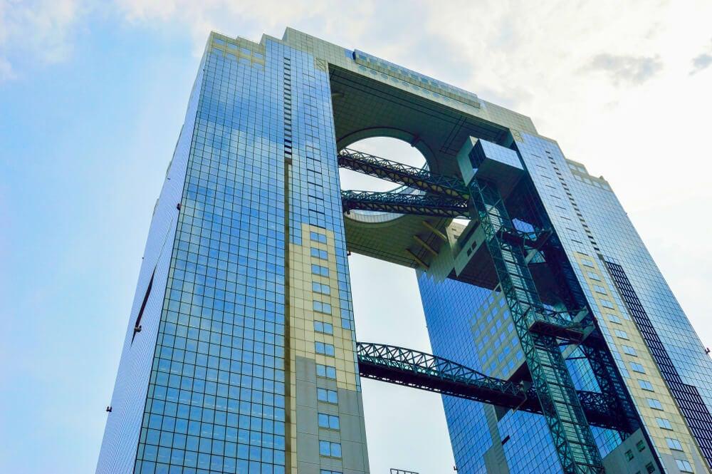 Vista del Umeda Sky Building