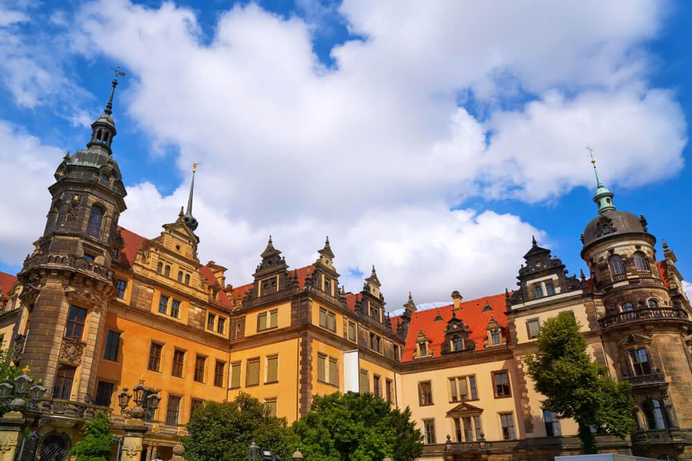 Vista del Residenzscholss