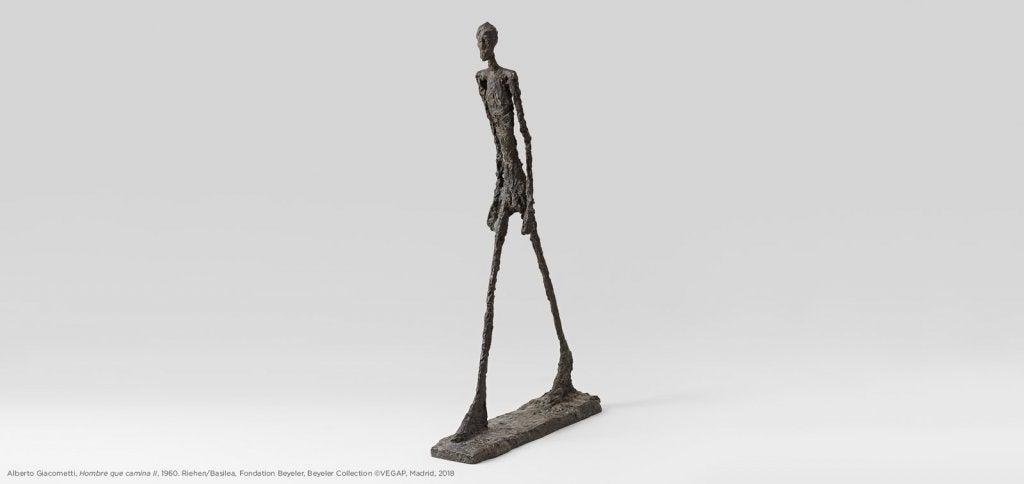 Pieza de una de las exposiciones temporales en el Museo del Prado