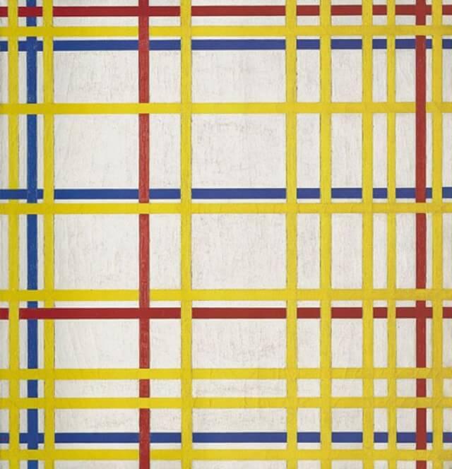 """New York City I"" de Mondrian"
