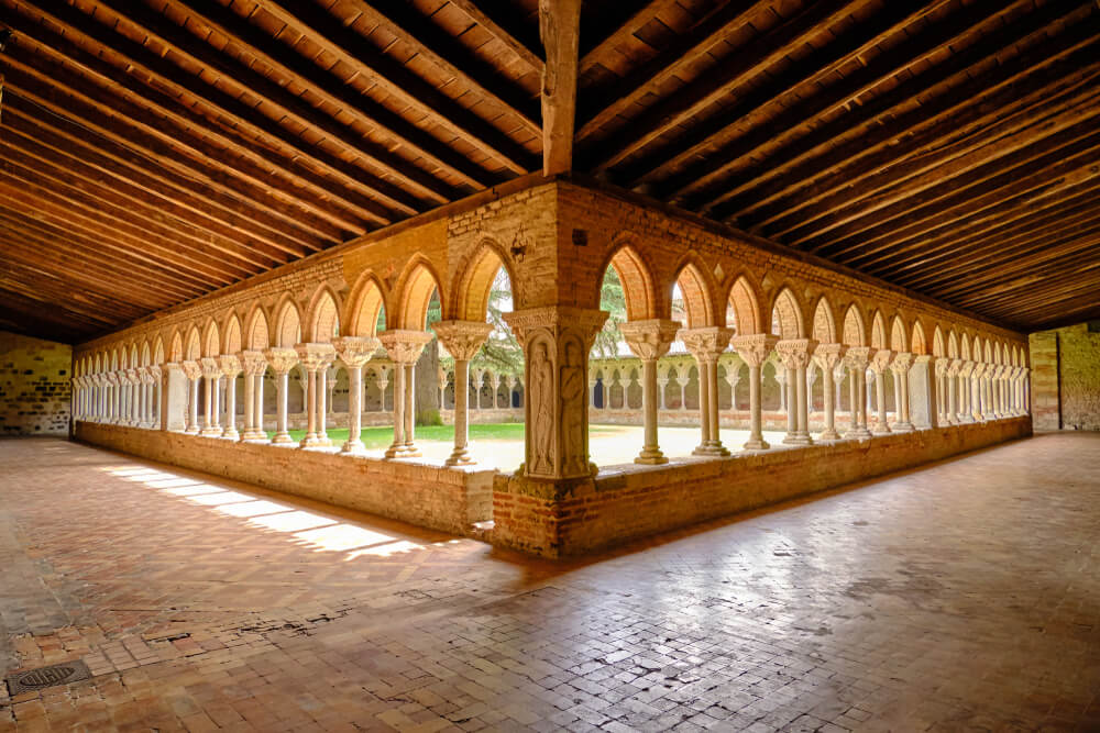 Claustro de la Abadía de Moissac