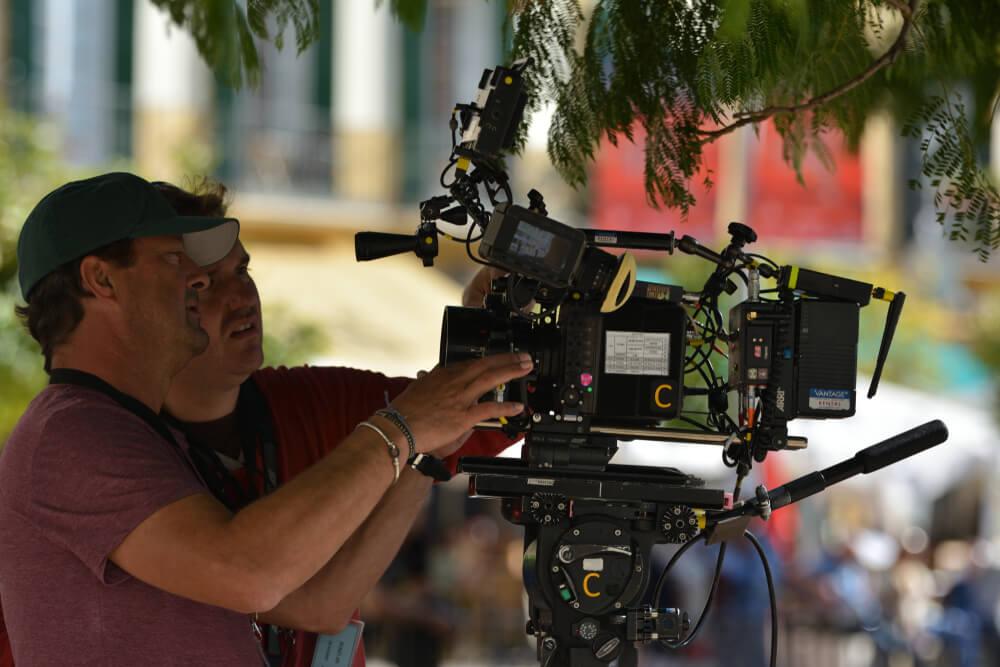 """Antonio Banderas en el rodaje de """"Genius: Picaso"""""""