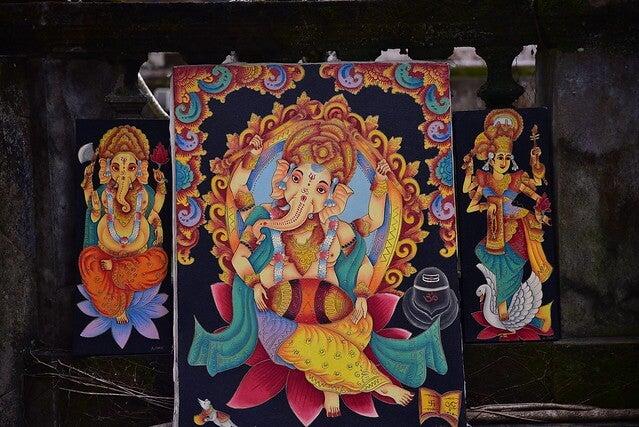 Artesanía típica de Bali