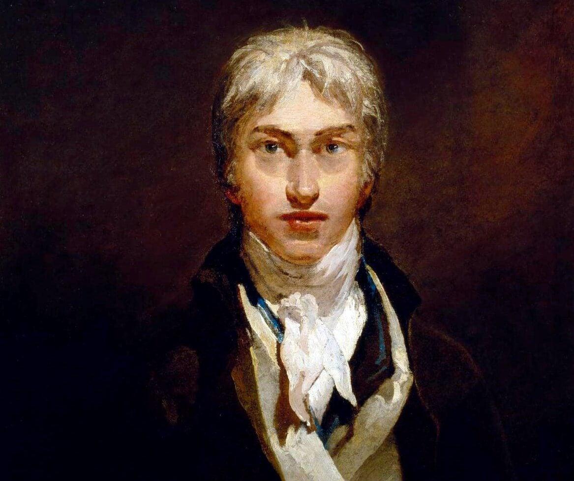 Autorretrato de Turner, uno de los artistas que ha aparecido en cine