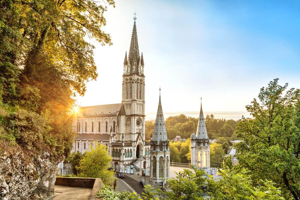 Basílica en Lourdes