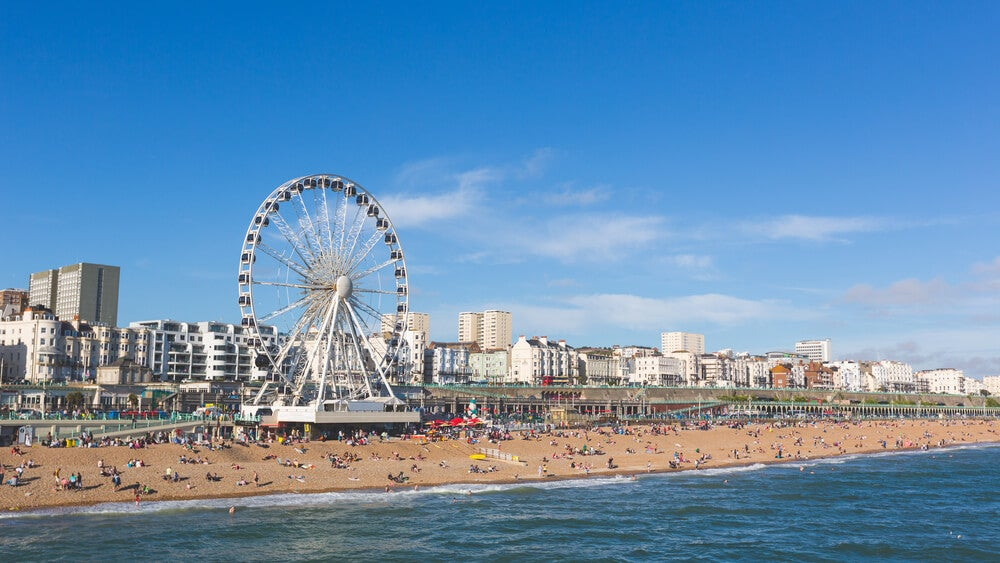 Descubre Brighton en Inglaterra y sus coloridas calles