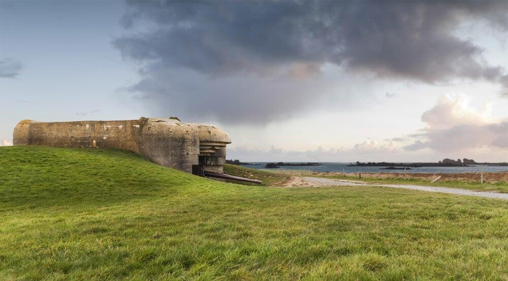 Búnker en Normandía