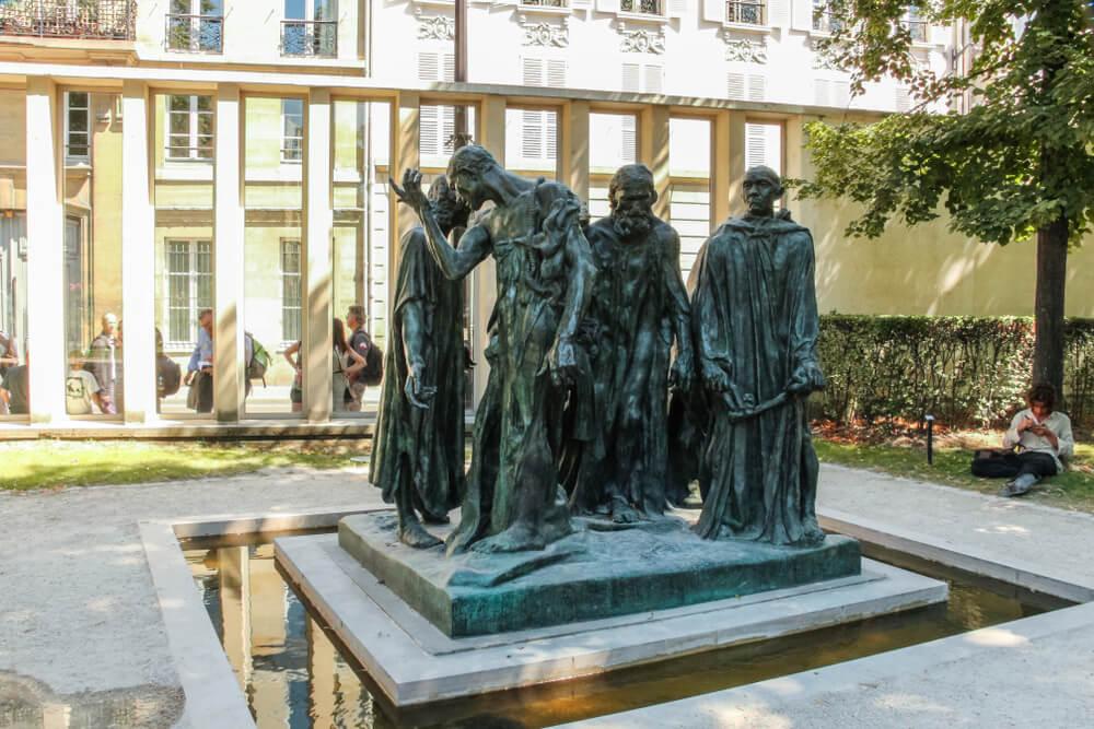 Los burgueses de Calais en el Museo Rodin