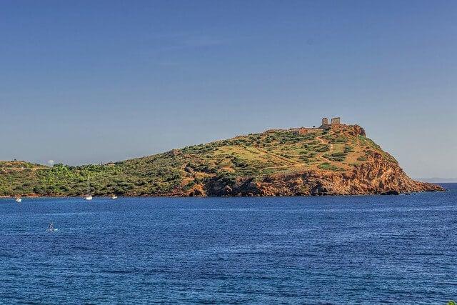 Cabo Sunio en Grecia