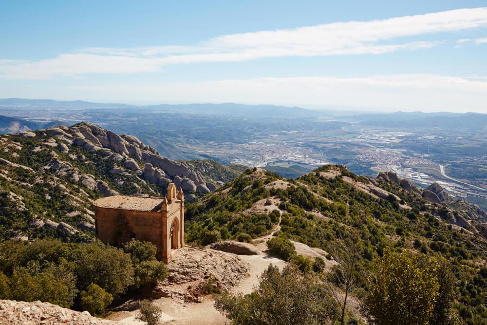 Capilla en el alto de Sant Jeroni