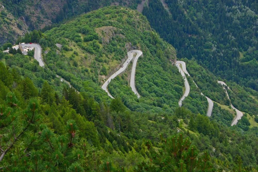 Carretera de Alpe d'Huez