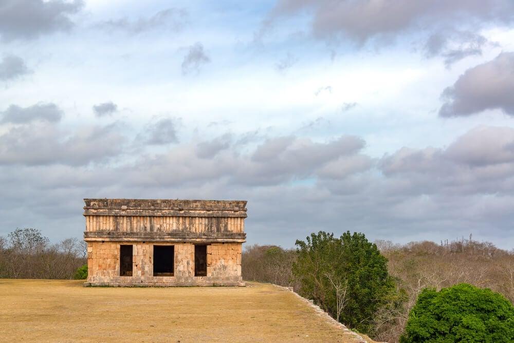 Vista de la casa de las Tortugas