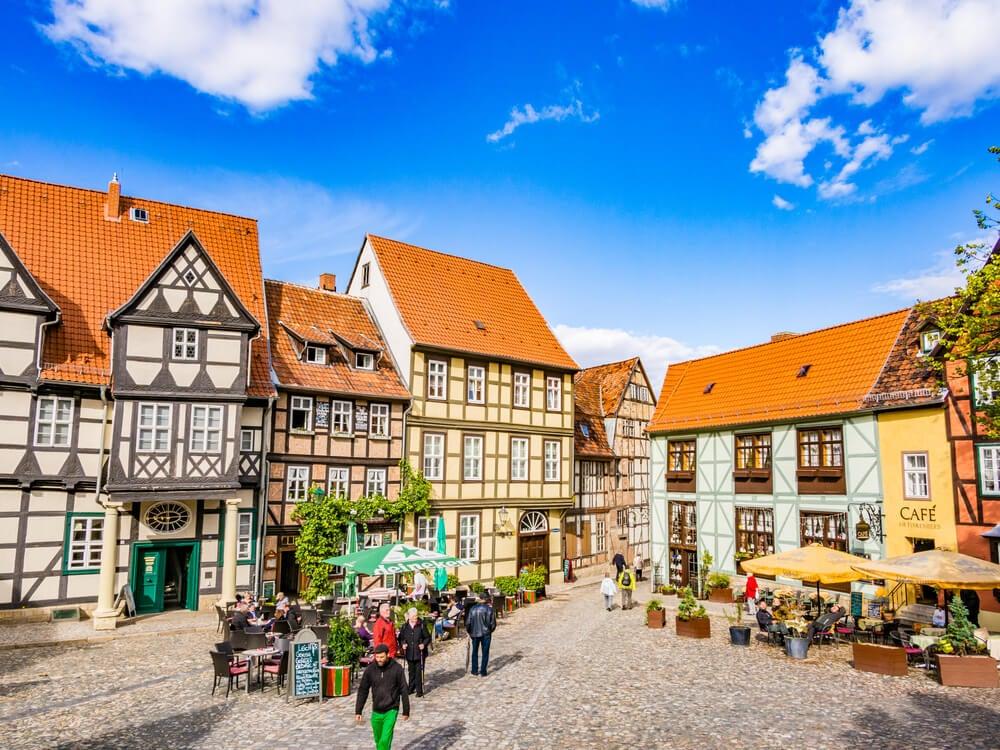 Casco antiguo de Quedlinburg